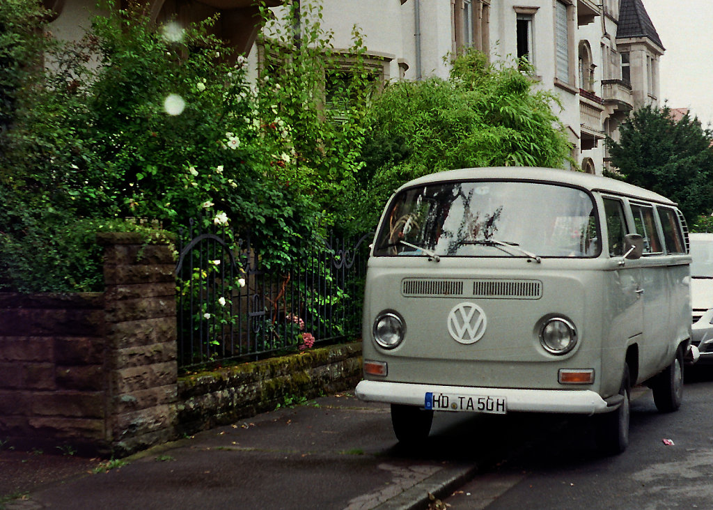 VW-Bus in Heidelberg